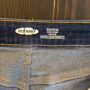 Old Navy Jeans - Old Navy •High Rise Rockstar Skinny Jeans
